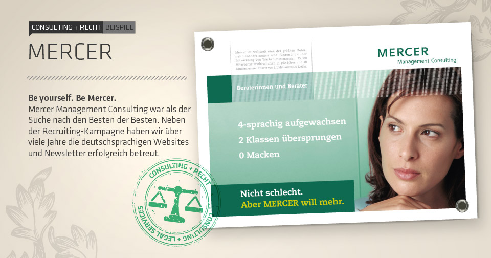 Consulting + Recht